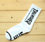 Fashion Jacquard Words THRASHER Skate Socks Men Harajuku Hemp Male Socks