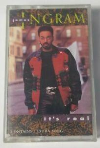 James Ingram Its Real Audio Cassette 1989 Warner Bros Tape
