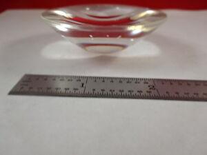 MICROSCOPE-PART-ILLUMINATOR-BI-CONVEX-LENS-OPTICS-AS-IS-B-T3-F-20