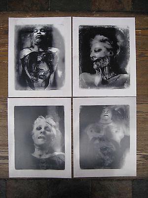"Burke & Hare Movie - Autopsy Photo Prints  [ Set of 4 ] 8"" x 10"""