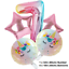 Unicorn-Balloons-Rainbow-Birthday-Party-Decorations-Princess-Girl-Foil-Latex thumbnail 9