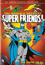 The Worlds Greatest Super Friends: And Justice for All (DVD, 2013)