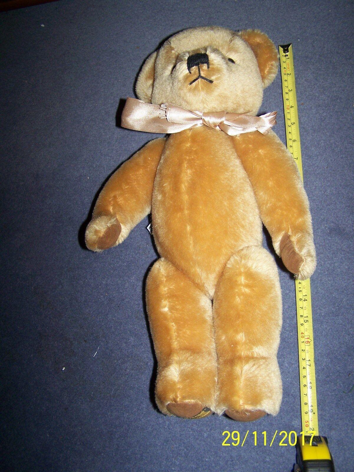 Marrone Dorato ~ Merrythought orso ~ 18  ~ REG N. PA169
