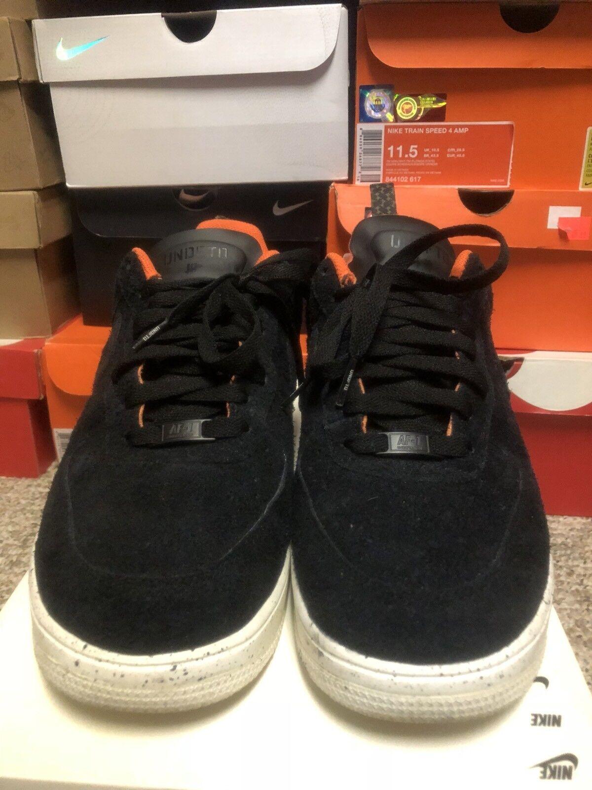 Nike air force undftd nero lunare