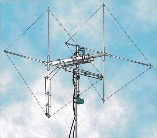 TWO ELEMENTS 11 METERS, TRUE CB QUAD ANTENNA 8KW, BROADBAND, DUAL POLARIZATION. Available Now for 327.00