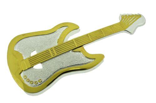 Music Guitar Electric Country Belt Buckle Player Banjo Guitarist Musician Metal