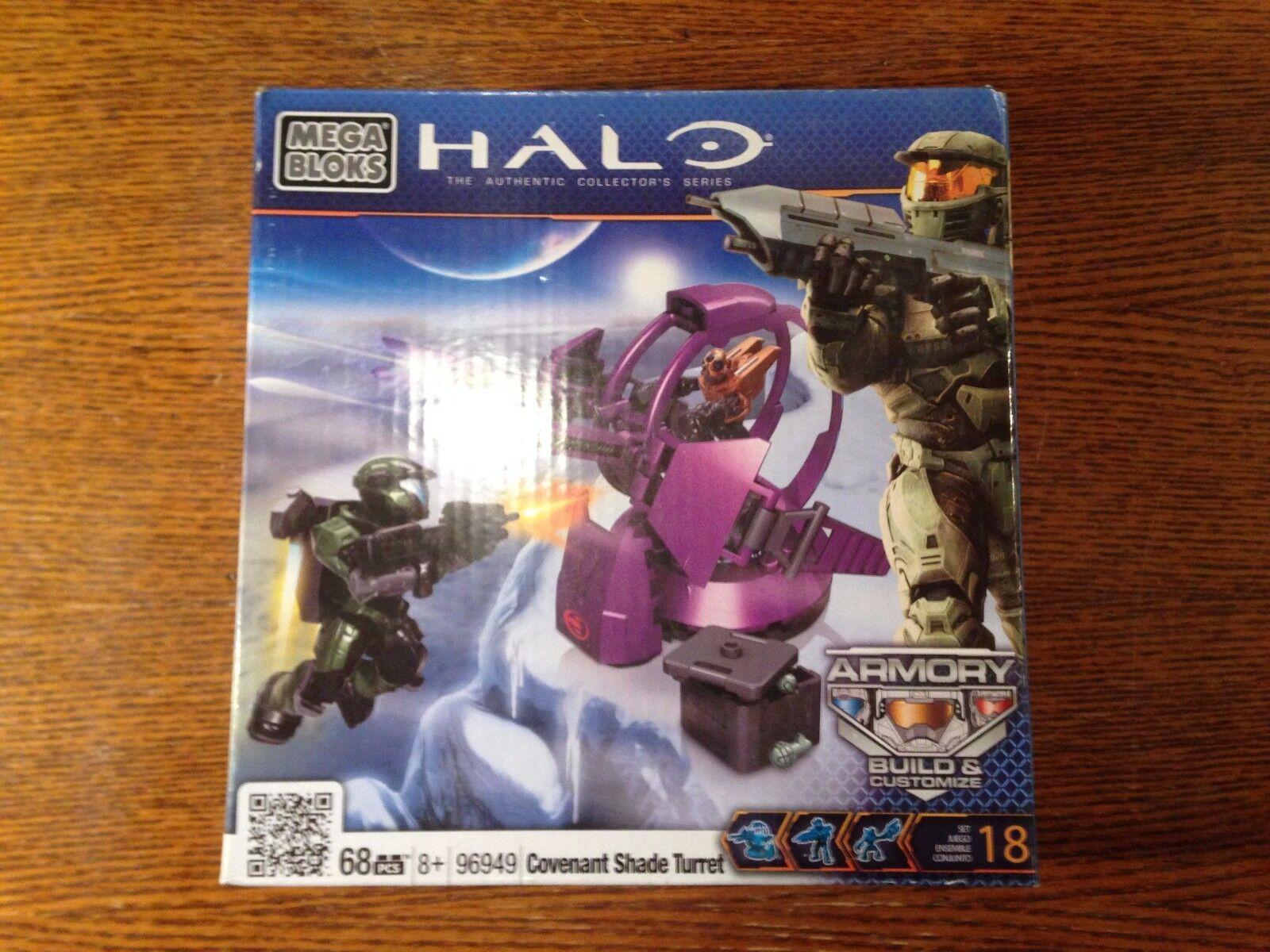Halo Mega Bloks Covenant Shade Torreta    BNIB   96949