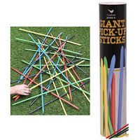 Giant Pick Up Sticks Wooden Outdoor Traditional Sports Game Picnic Birthday Toy