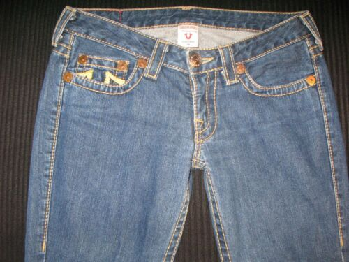 Boots Sz 29 Jeans True 100 Low 28 Bobby donna Rainbow cotone 30 Religion Xxqw48