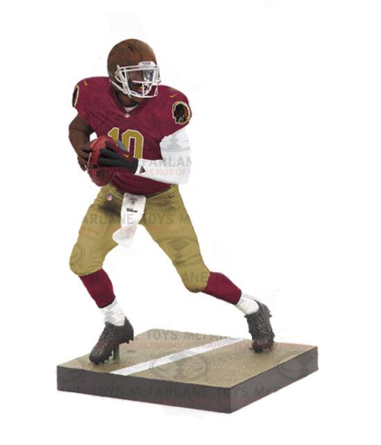 Mcfarlane NFL 31 Robert Griffin Washington Redskins Throwback Exclusive Case 8
