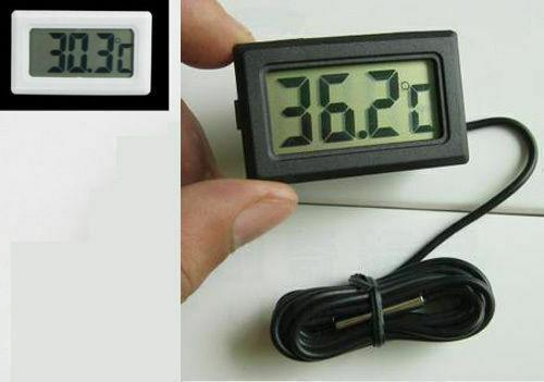Digital LCD Probe Fridge Freezer Thermometer Thermograph Refrigerator -50~ 110 D