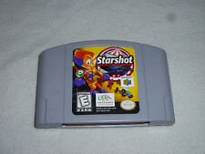 NINTENDO N64 VIDEO GAME STARSHOT SPACE CIRCUS FEVER CARTRIDGE ONLY CART RARE >>>