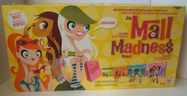Mall Madness Electronic Talking Shopping Board Game Tested Works