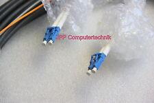 15m 2x DLC auf 2DLC Glasfaser duplex Glasfaserkabel Kabel Fiber Cable patch cord