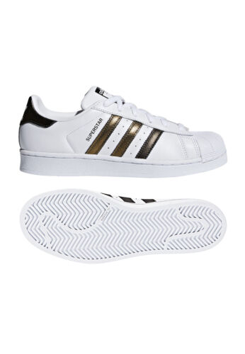 B41513 W Superstar Or Baskets Originals Adidas Blanc Femmes Pour XYcqp