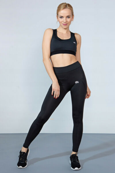 ROUGH RADICAL Damen Fitnesshose lang Tights Sport Leggings Laufhose ACTIVE II
