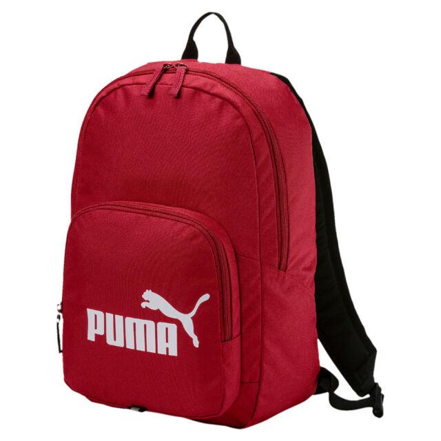 PUMA Phase Backpack Rucksack Sportrucksack Tasche Red Dahlia rot