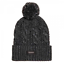 Superdry Jacob Knitted Bobble Beanie Magma noir Twist