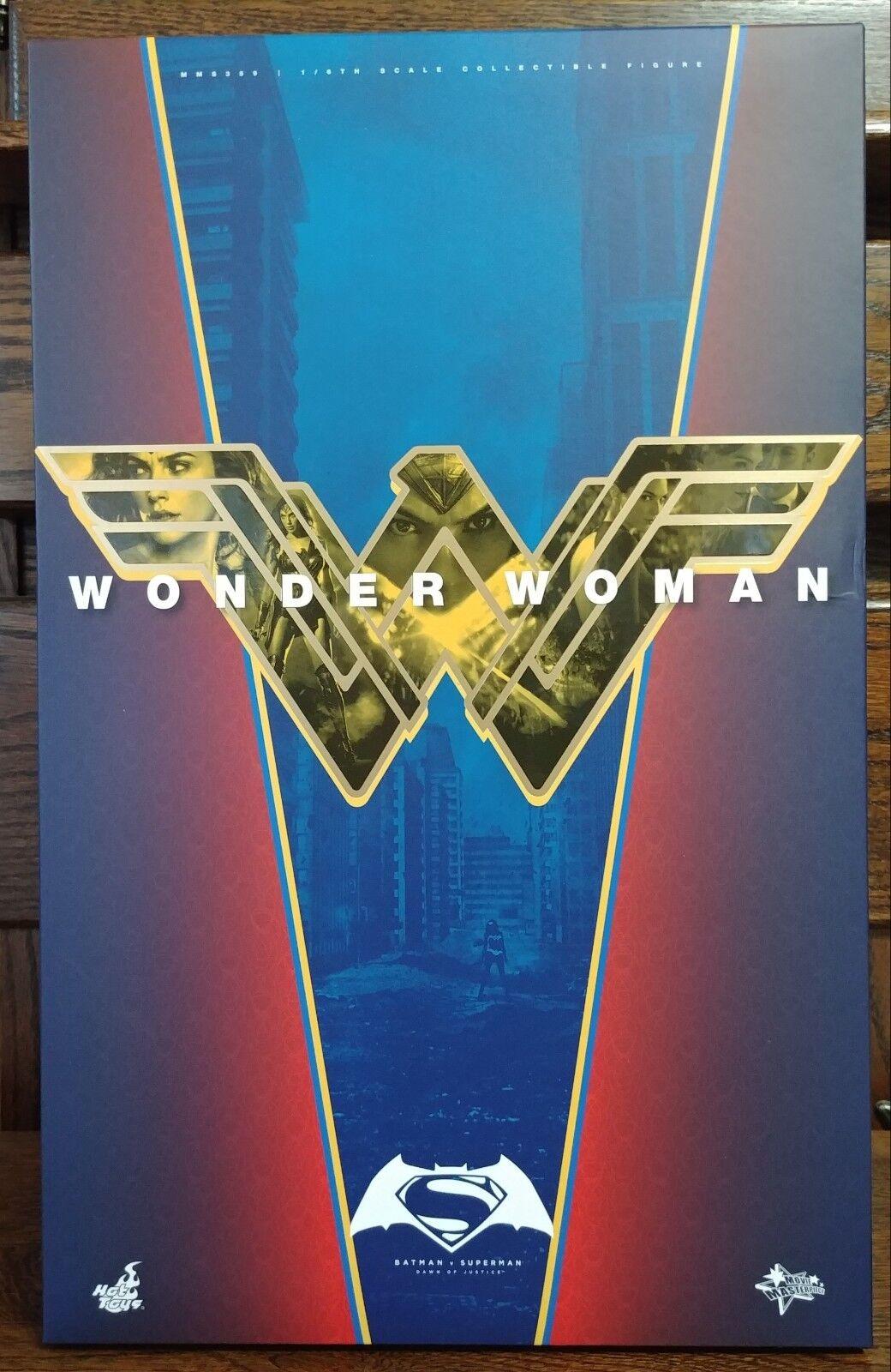 Hot Toys 1/6 Batman v Superman Dawn of Justice Wonder Woman Figure MMS359