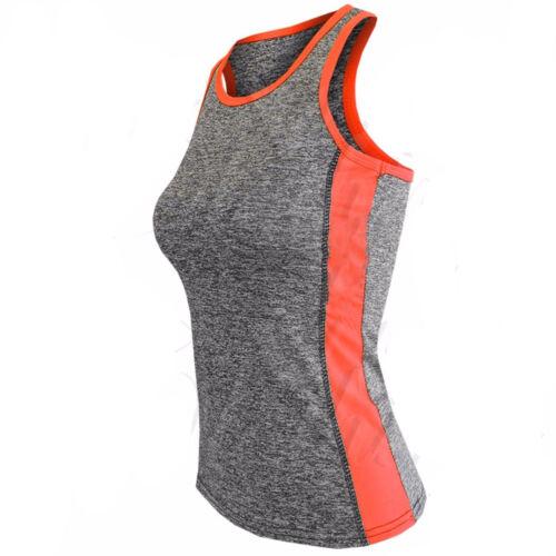 Women 2 Piece Set Gym Fitness Vest Top Leggings Running Ladies Sports Yoga Suit