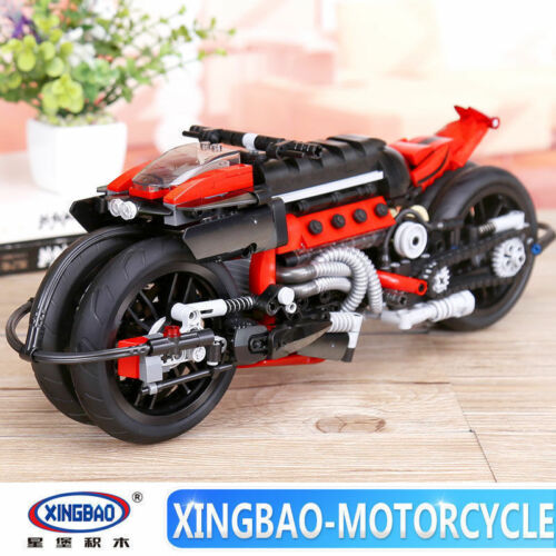 Baukästen Xingbao Ostern Genuine 680Pcs Technische Serie The Off-road Motorcycle