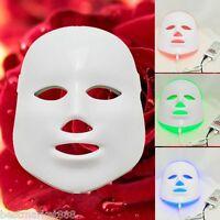 Treatment Photon Led Facial Mask Skin Rejuvenation Beauty Therapy 3 Colors Light
