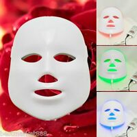 Treatment Photon Led Facial Mask Skin Rejuvenation Beauty Therapy 3 Colors Light