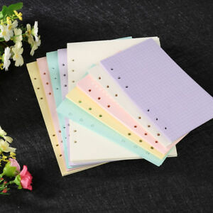 40-Sheets-A5-A6-Filler-Papers-Loose-leaf-Notebook-6-Holes-Office-School-Supplies