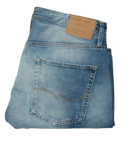 Jack /& Jones Jjirick Jjoriginal Shorts Ge 509 Noos Denim Men/'s Jeans Pants Blue