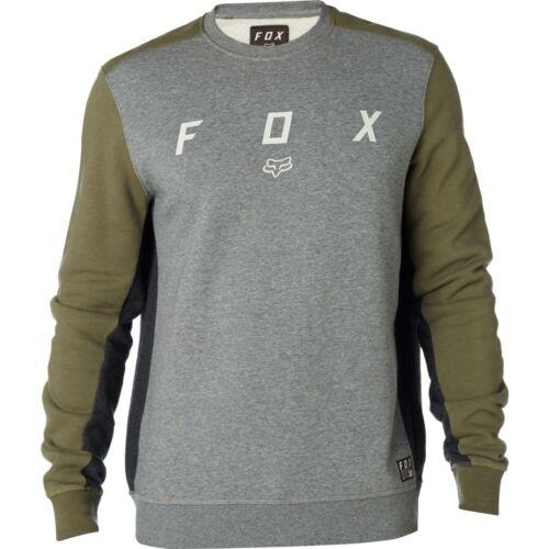 groen Harken sweater Vermoeidheid hals Ronde Heren Fox Hoodie Crew grijs Fleece gAqPa6