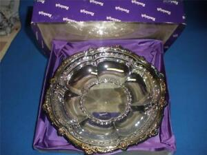 RALEIGH-SILVERPLATE-FANCY-ROUND-BOWL