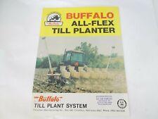 Buffalo All Flex Till Planter Sales Brochure