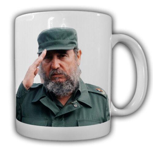 Fidel Alejandro Castro Ruz cubain révolutionnaire politique Tasse à café #27541