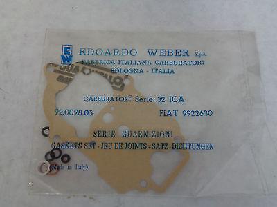 GENUINE WEBER 32 DIR CARBURETOR GASKET SET RENAULT NOS WEBER