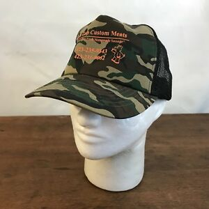 26ab27fe369 Image is loading Bulls-Gap-Custom-Meats-Camouflage-Camo-Cotton-Snapback-
