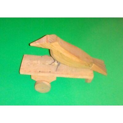 Holz Spielzeug Vogel alt Kind Sammler Objekt Nachzieh Spielzeug