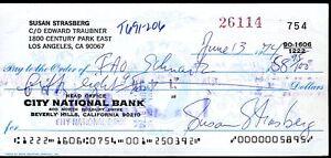 Susan-Strasberg-Jsa-Authenticated-Signed-Check-Autograph