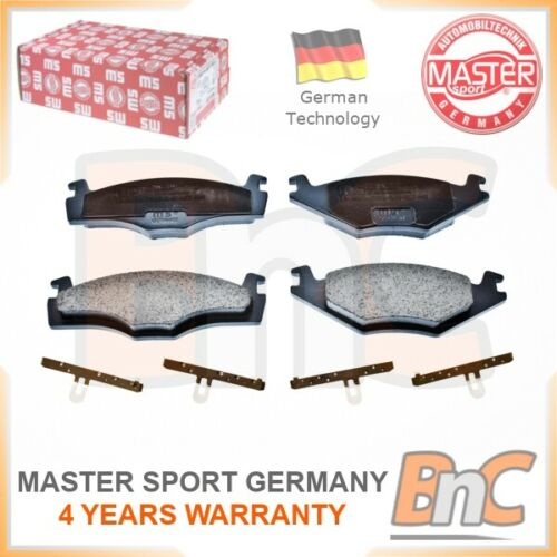 GENUINE MASTER-SPORT GERMANY HEAVY DUTY FRONT DISC BRAKE PAD SET FOR VW SEAT