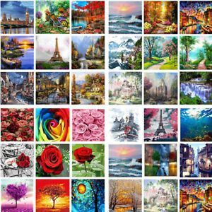 Cool-DIY-Paint-By-Number-Kit-Digital-Oil-Painting-On-Canvas-Art-Home-Decor