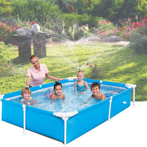 Large Family Swimming Pool Garden Outdoor Summer Inflatable Kids Paddling Pools Ebay