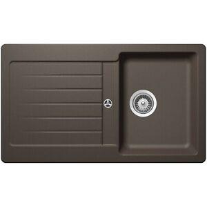 Details zu Schock Typos D-100 Inca Braun Granitspüle Spüle Küche Spülbecken  Küchenspüle