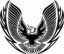 Eagle Tribal Hood Graphic Vinyl Decal