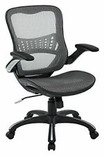 Office Star Mesh Back Amp Seat 2 To 1 Synchro Amp Lumbar Support Managers Chair