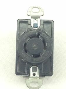 NEW-HUBBELL-TWIST-LOCK-4-WIRE-RECEPTACLE-20A-125VAC-FAST-SHIP-A46