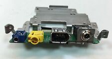 Canon XH-A1s Part DV FireWire Port Jack With Circuit Board Works Used