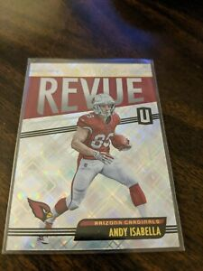 2019 PANINI UNPARALLELED ROOKIE REVUE RR-AI ANDY ISABELLA ROOKIE CARD RC ARIZONA