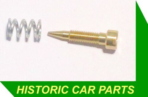 "VOLUME CONTROL SCREW /& SPRING for ZENITH 30VM-4 Carb on Austin /""BIG/"" 7 1937-38"