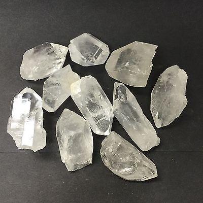 """Clear Quartz Points, 10 lb Lot 1.5 to 2.5"""" Zentron™ Crystals"""