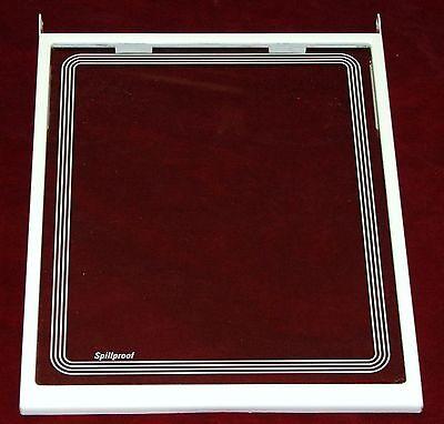 Ge Réfrigérateur Déversement Anti Rouille Etagere En Verre Dimensions 13 1.6cm W Autres