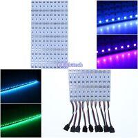 5-200pcs 0.5m 36LEDS 5050 SMD RGB LED Hard rigid Strip Light Bar Lamp DC 12V